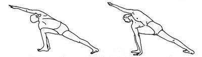 Паривритта Паршваконасана: совмещаем скручивание позвоночника с упражнением на баланс