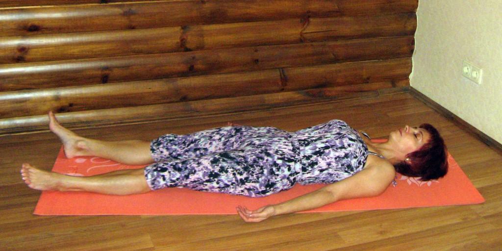 Шавасана как лекарство от бессонницы и нарушения сна