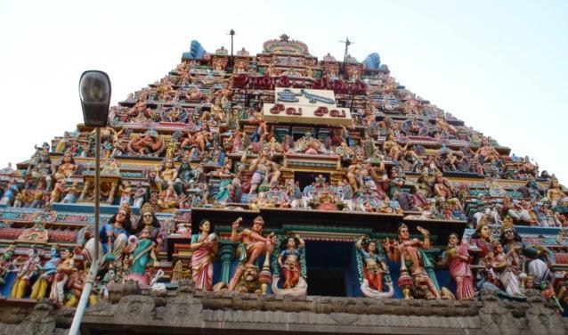 Храм Шивы в Ченнаи