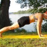 Упражнения против целлюлита №1: лечение целлюлита в позе Планки