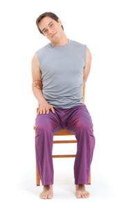 Йога для  шеи и плеч: наклоны головы