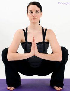 Йога для желудка: Маласана, или поза Гирлянды