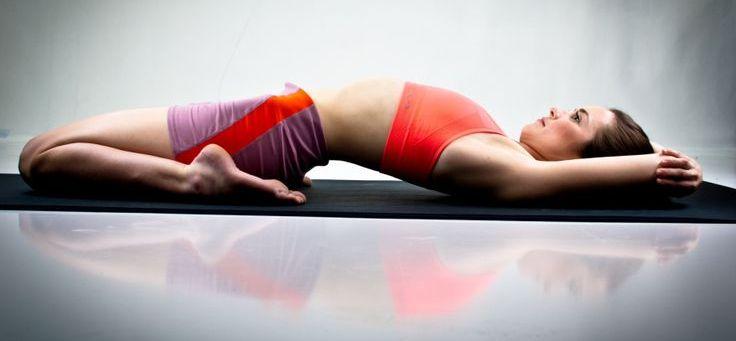 Йога для желудка: Супта Вирасана