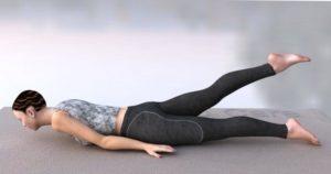 Йога-детокс в домашних условиях: половинная поза Саранчи