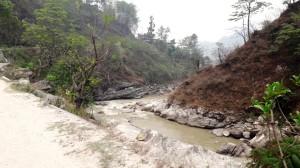 Пеший горный поход в Гималаях и йога в горах