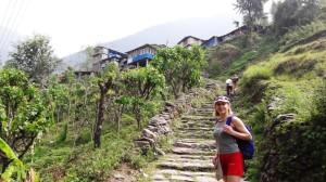 Пешие горные походы и йога в горах Непала