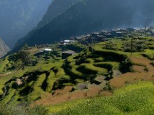 Активный отдых в горах 2016 и семинар по йоге: Непал, Марди-Химал трек