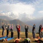 Семинар по йоге «Твой путь к здоровью» и активный отдых в горах. Непал, Гималаи, сентябрь 2016