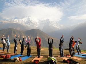 Активный отдых в горах Непала и семинар по йоге