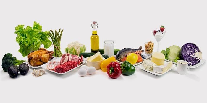 Продукты дня на безуглеводной диете