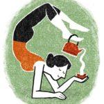 О полезных свойствах кофе и йоге