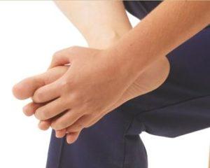 Как делать массаж стоп при бурсите большого пальца ноги