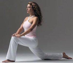 Упражнения для подвздошно-поясничной мышцы  - растяжка