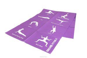Что взять с собой в йога-тур? Складной коврик для йоги