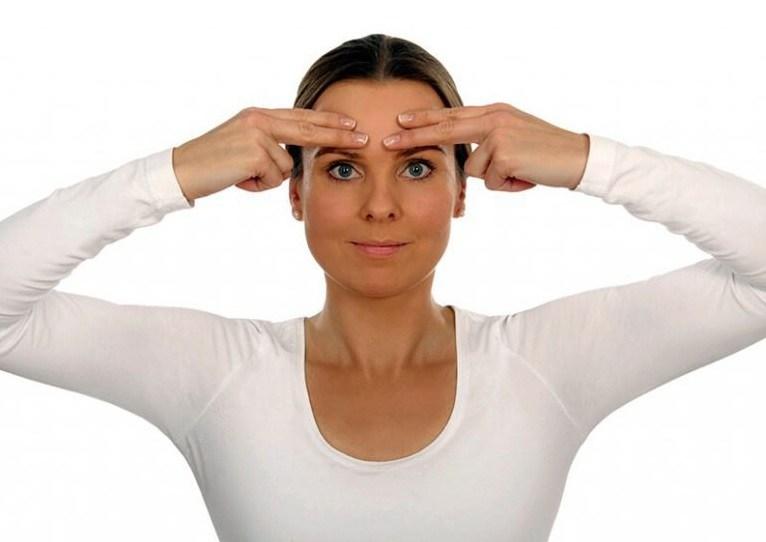 Постизометрическая релаксация для расслабления мышц лица