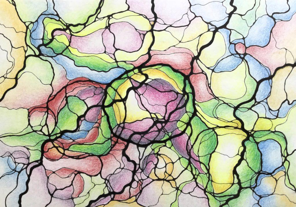 Нейрографика с Лией Воловой, инструктором нейрографики и эстетическим коучем
