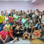Закончилась сессия на курсе йогатерапии
