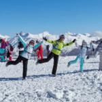 Уникальный йога-тур на Розу Хутор для любителей зимних видов спорта